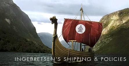 Ingebretsen's Shipping Info