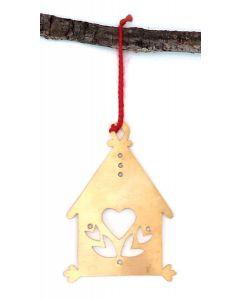 Ingebretsen's Bronze Huset Ornament 2021