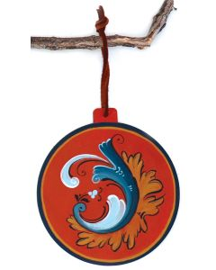 Ingebretsen's Rosemaled Circle Ornament 2021
