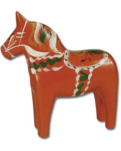 Classic Old Red Dala Horse