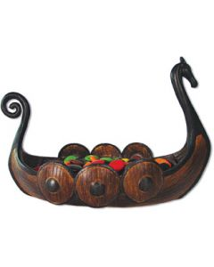 Viking Ship Candy Dish