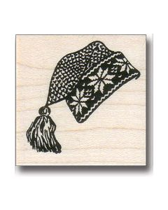 Stocking Hat Rubber Stamp