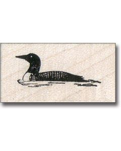 Loon Rubber Stamp