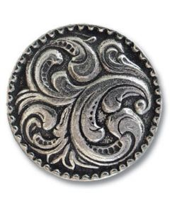 Aase Pewter Button
