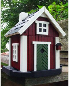 Swedish Stuga Birdhouse