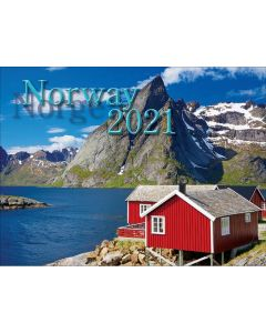 NordisKal Norway Calendar 2021
