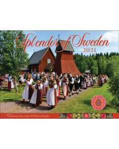Splendor of Sweden Calendar 2021
