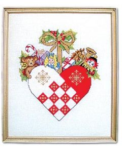 Toys in a Woven Heart Kit
