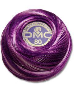 DMC Tatting Thread - Purple and White