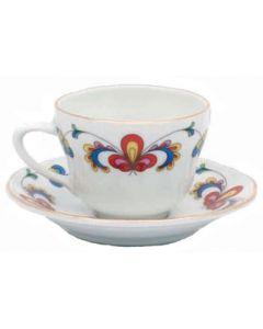 Farmer's Rose Medium Cup or Saucer