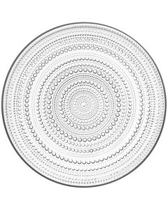 """Clear Dewdrop Plate 10.5"""""""