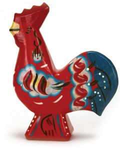 "4"" Red Dala Rooster"