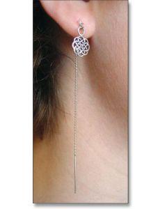 Open Design Celtic Knot Ear Threads