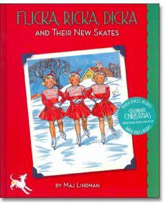 Flicka, Ricka, Dicka and Their New Skates, with paperdolls