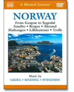 DVD A Musical Journey: Norway From Gaupne to Sogndal