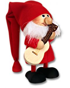 Tomte with Guitar