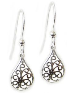Mai Silver Earrings