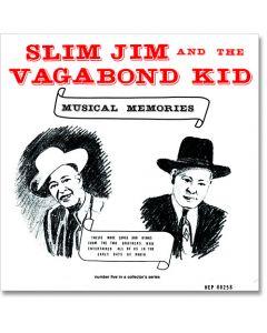 #5 LP Slim Jim and The Vagabond Kid Musical Memories