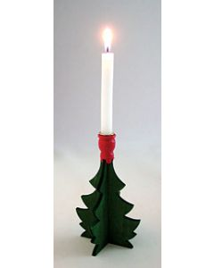 Christmas Tree Candleholder for 1 Candle
