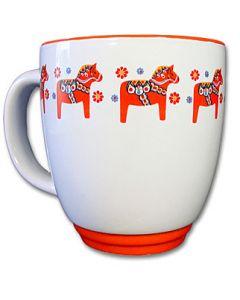 Dala Horse Latté Mug