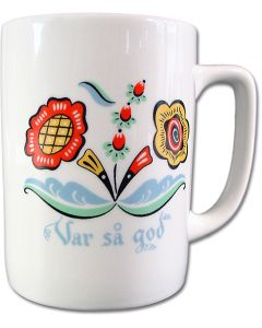 Swedish Flower Mug - Var Så God