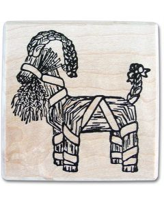 Julbock Rubber Stamp