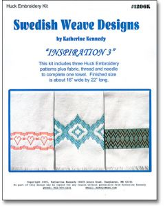 Inspiration 3 Huck Embroidery Towel Kit