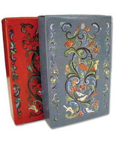 Rosemaling Design Playing Cards
