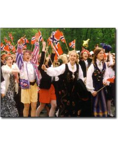 Syttende Mai Parade Greeting Card