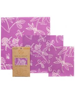 Bee's Wrap - 3 Assorted Sizes - Clover