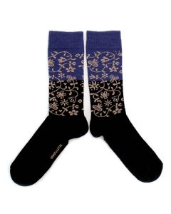 Bengt & Lotta Garden Blue Socks
