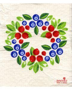 Berries Dishcloth