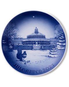 Bing & Grøndahl Christmas Plate 2021