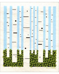 Birch Forest Cellulose Dishcloth