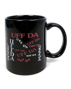 Black Uff Da Mug