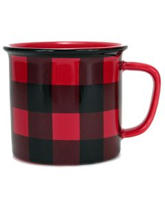 Buffalo Check Mug