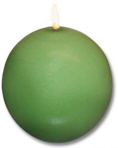 Moss Green Danish Ball Candles