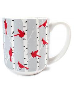Flock of Cardinals Mug