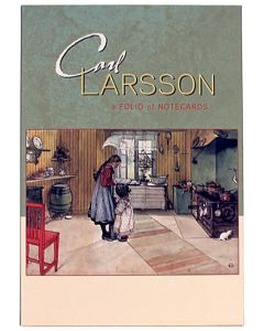 Carl Larsson Notecards in Green Sleeve