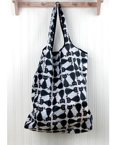 Cats Recycled Tote Bag