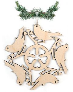 Circle of Birds Ornament