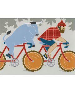 Bunyan Bikers Card