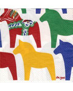 Colors Dala Horse Napkins