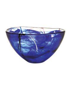 Orrefors Contrast Blue Bowl