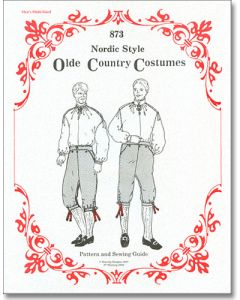 Men's Nordic Shirt and Knickers Pattern #873