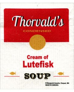 Cream of Lutefisk Dishcloth