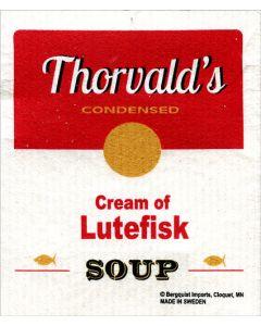 Cream of Lutefisk Dishcloth