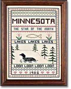 Kathy's Minnesota Sampler Chart
