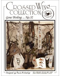 Crossed Wing Collection No.32 Gone Birding Cross-Stitch Charts