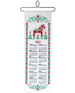 Dala Horse Cloth Calendar 2021